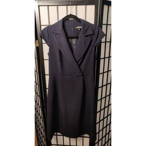 Ellen Tracy Navy Sheath Dress